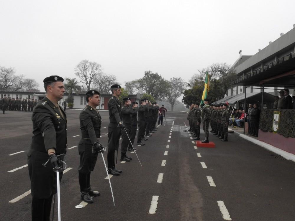 Solenidade marca os 177 anos do 14º RC/Mec e o Dia do Soldado em São Miguel do Oeste