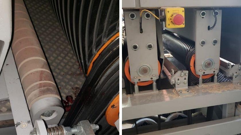 Trabalhador tem mão esmagada por lixadeira em São José do Cedro