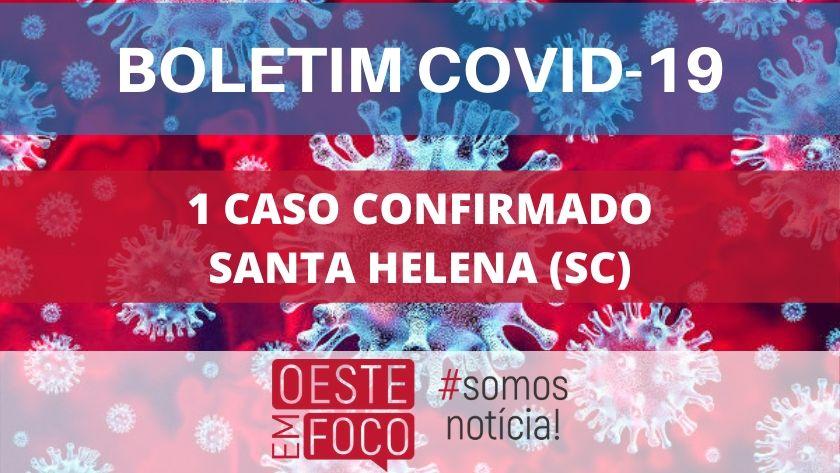 Santa Helena registra primeiro caso confirmado de coronavírus