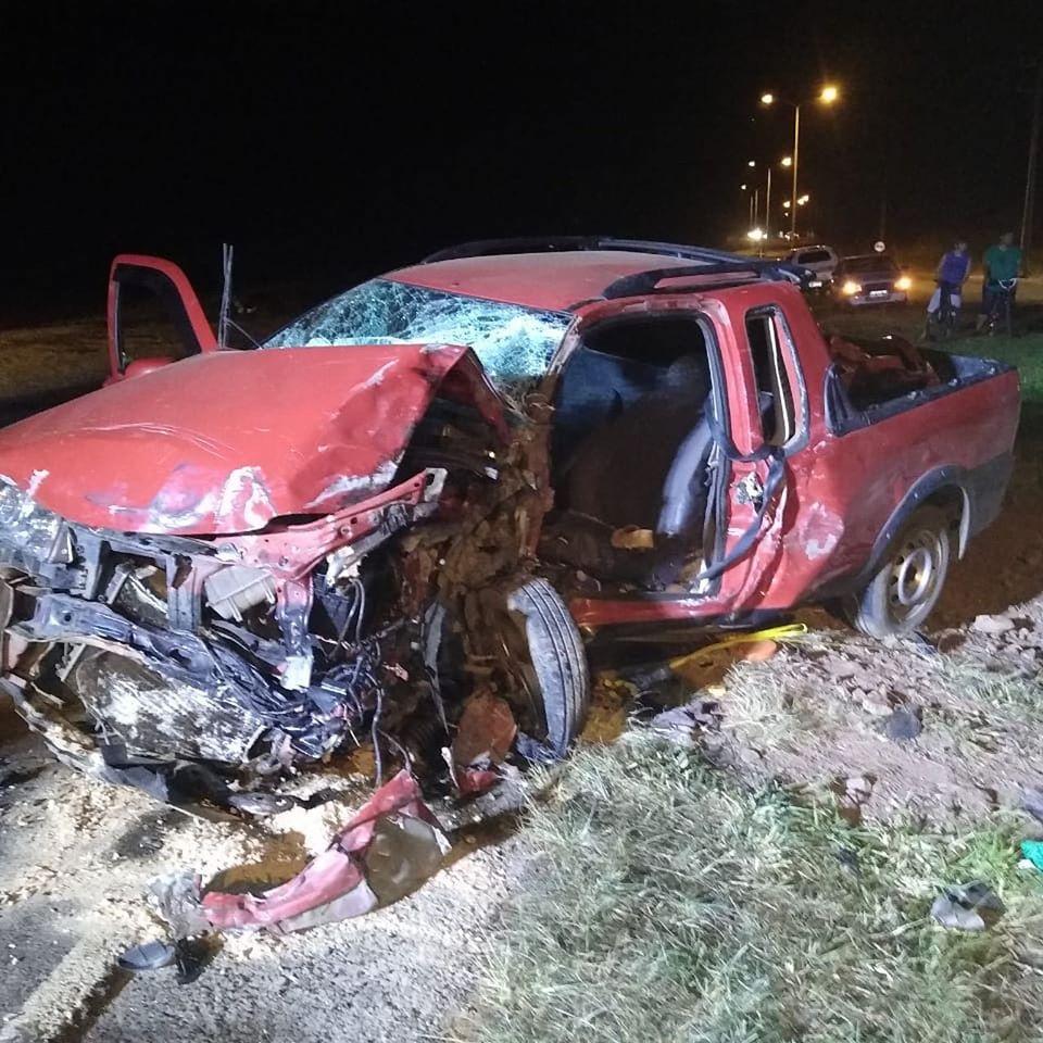 Colisão frontal deixa dois feridos na BR-163 em São José do Cedro