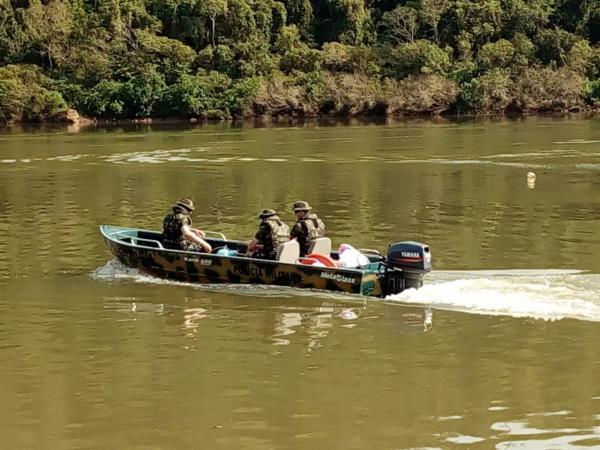 Piracema inicia com operação da PMA no rio Uruguai