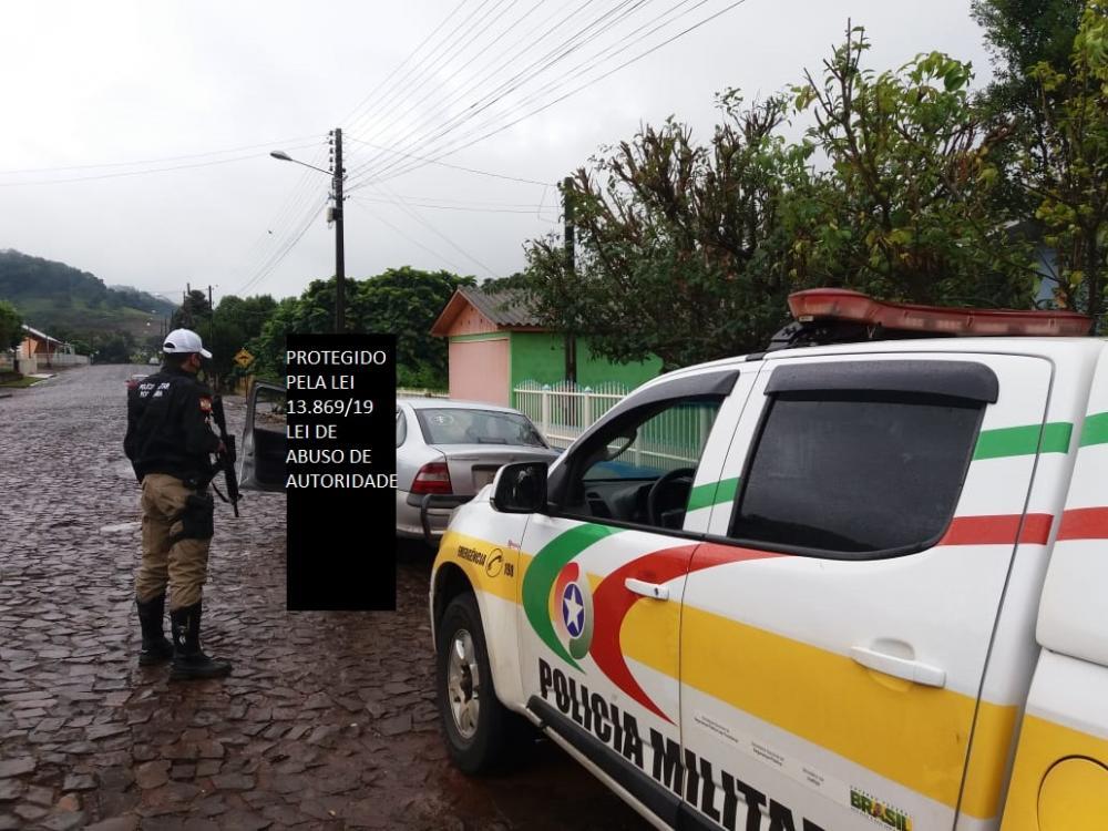 Acusado de estupro e estelionato é preso pela PMRv na SC-283