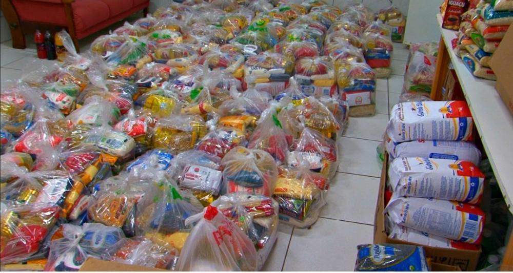 Maratona da Solidariedade arrecada 41 toneladas de alimentos em Chapecó