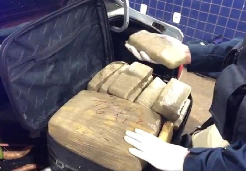 Casal é preso por tráfico de drogas na BR-163 em Guaraciaba