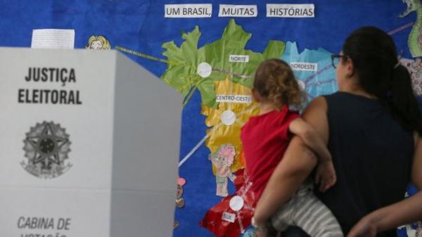 O peso de cada região do Brasil na votação para presidente