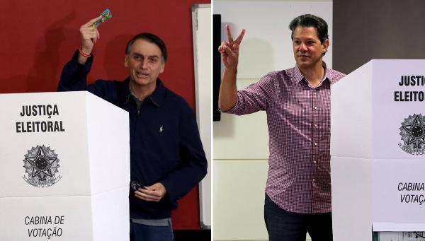 Pesquisa Datafolha para presidente: Bolsonaro tem 58% dos votos válidos e Haddad, 42%