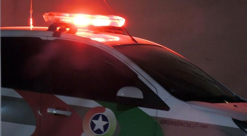 Motociclista embriagado sofre queda em frente à polícia e é preso em Romelândia