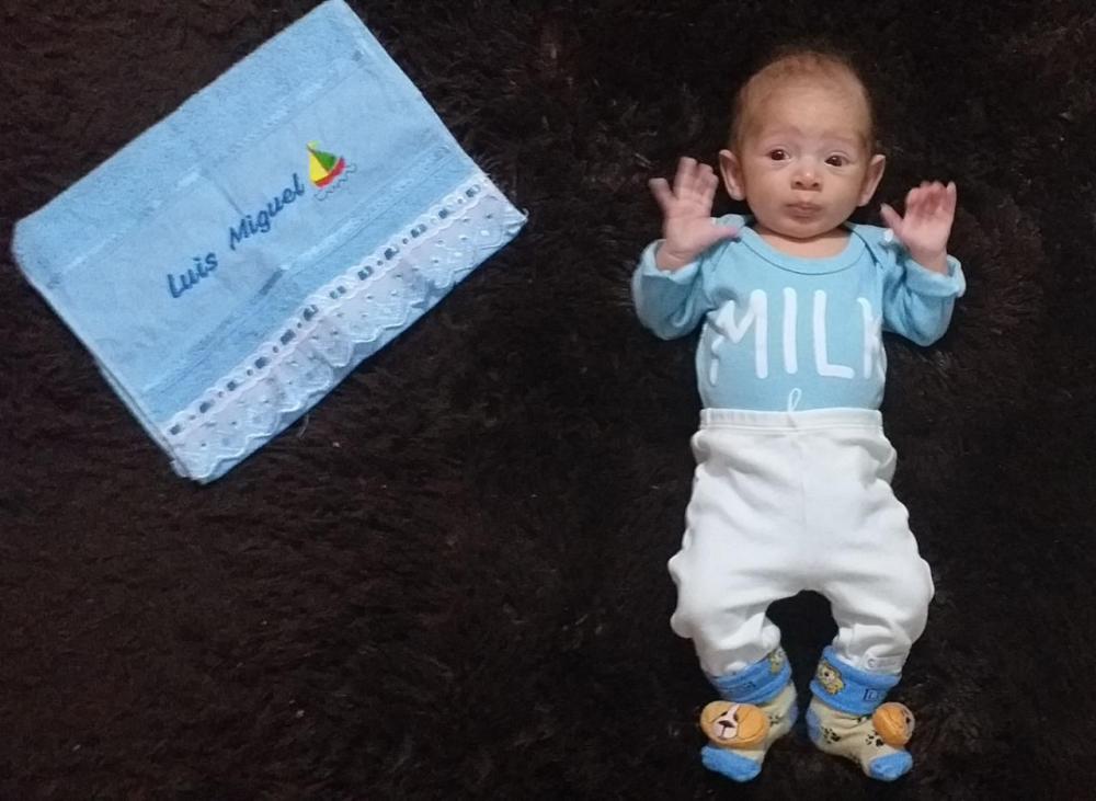 Família de Descanso faz rifa e vaquinha on-line para pagar cirurgia de bebê