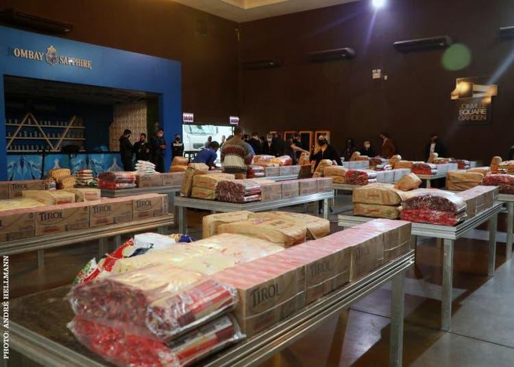 Live solidária arrecada 5,7 toneladas de alimentos para famílias do Norte do Estado