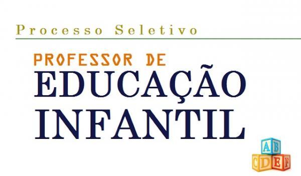 Educação contrata Professor de Educação Infantil em São Miguel do Oeste