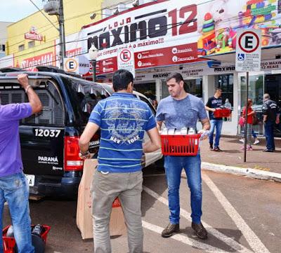 Empresário e ex-vereador de Guarujá do Sul é preso suspeito de vender mercadorias roubadas no PR