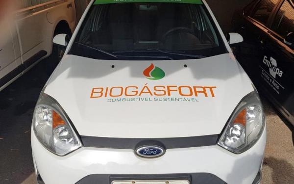 Embrapa lança carro movido a biogás de dejetos suínos