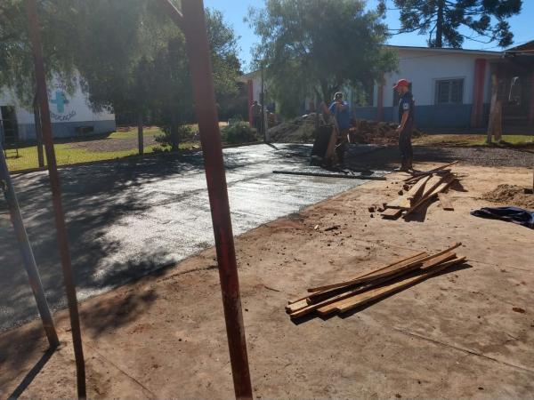Prefeitura inicia obras na Escola Municipal Luiz Savoldi