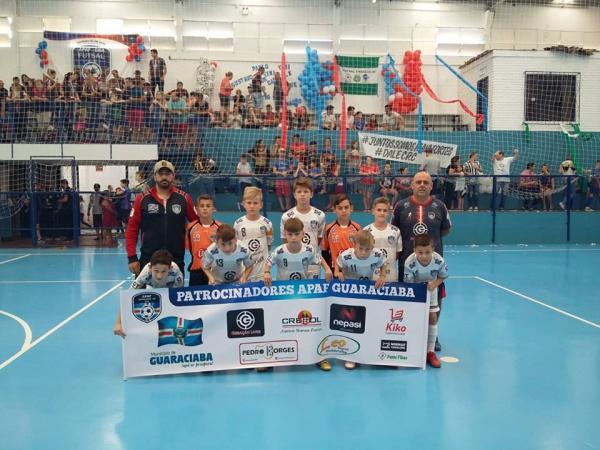 Futsal sub-10 de Guaraciaba conquista segundo lugar na Liga Catarinense