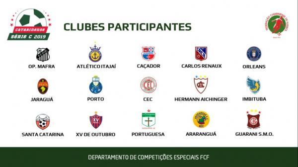 Catarinense Série C 2019 poderá ter 15 clubes