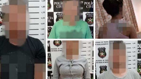 Ação conjunta prende cinco e desmantela esquema de tráfico de drogas na região