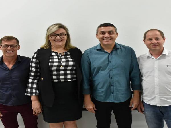 Everaldo Di Berti e Silvia Kunh são eleitos presidente e vice da Câmara de Vereadores de São Miguel do Oeste
