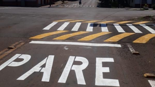 Semáforos serão realocados em São Miguel do Oeste
