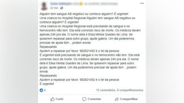 Hospital Regional de São Miguel do Oeste alerta para mensagem falsa circulando nas redes sociais