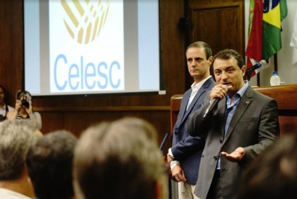 Governador Moisés visita Celesc e reforça compromisso com gestão técnica e eficiente