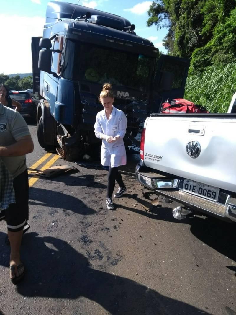 Empresário de Mondaí morre em acidente na SC-283 em Planalto Alegre