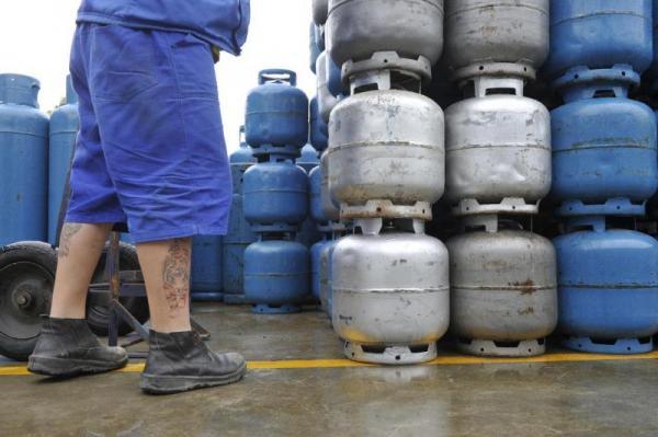 Botijão de gás registra aumento no preço nesta semana