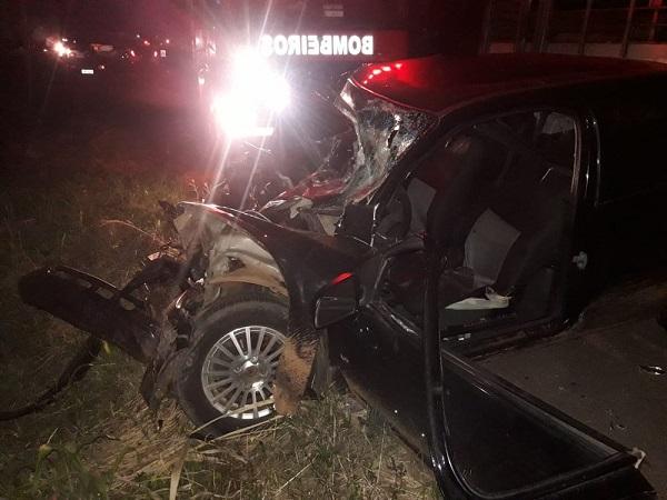 Sargento da Polícia Militar morre em acidente na BR-282 em Campos Novos
