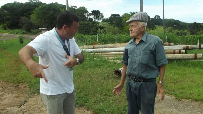 Odemar Marques se reúne com gerente da Casan de São Miguel do Oeste