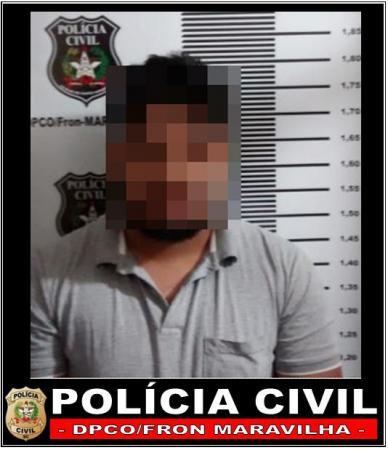 Homem quebra celular furtado ao receber voz de prisão por receptação em Maravilha