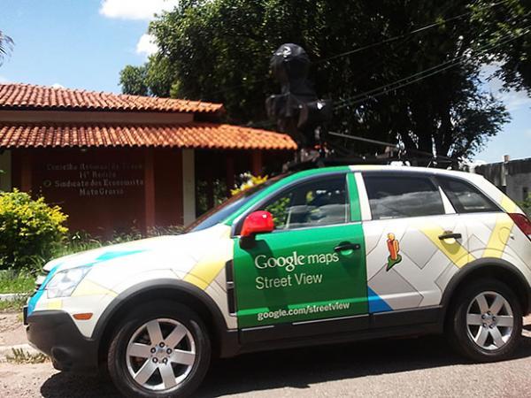 Carro do Google Street View mapeia ruas e avenidas de São Miguel do Oeste