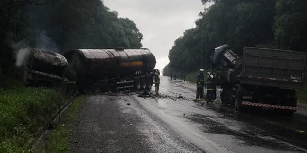 Caminhoneiro de Iraceminha morre em acidente no PR