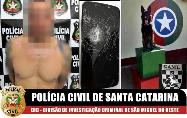 Suspeito de chefiar esquema de traficância em Guaraciaba e região é preso temporariamente