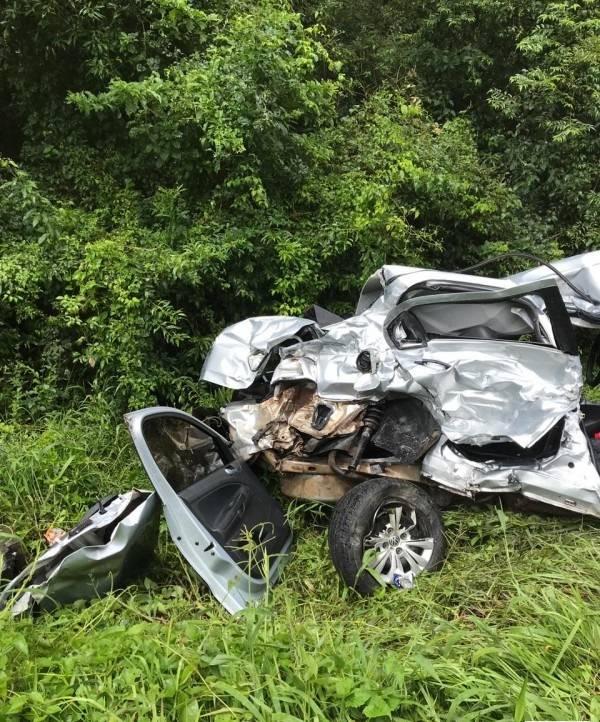Filha de empresário de São Miguel do Oeste morre em acidente na BR-282