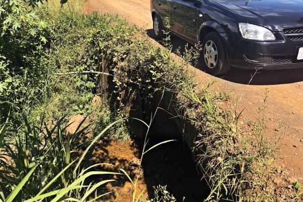 Vereadores pedem melhorias em ponte e em estrada no interior de São Miguel do Oeste