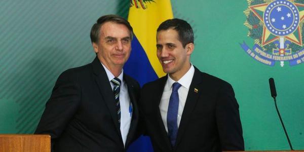 Bolsonaro fala em atuar para restabelecer democracia na Venezuela