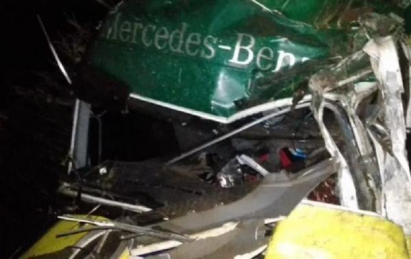 Motorista morre em queda de ribanceira na BR-153 em Concórdia