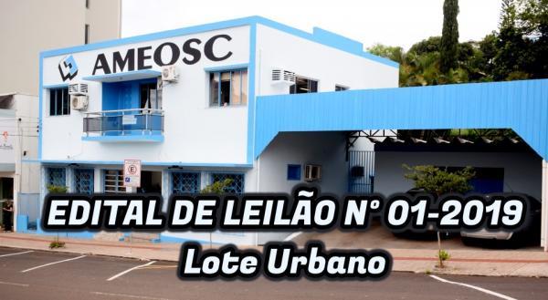 Sede da Ameosc em São Miguel do Oeste vai a leilão dia 22