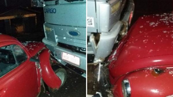 Motorista embriagado é preso após acidente no Centro de Descanso
