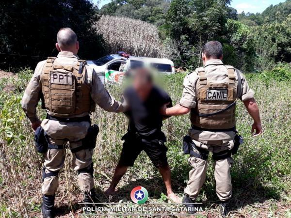 Identificado e preso acusado de balear gerente de loja em São Miguel do Oeste