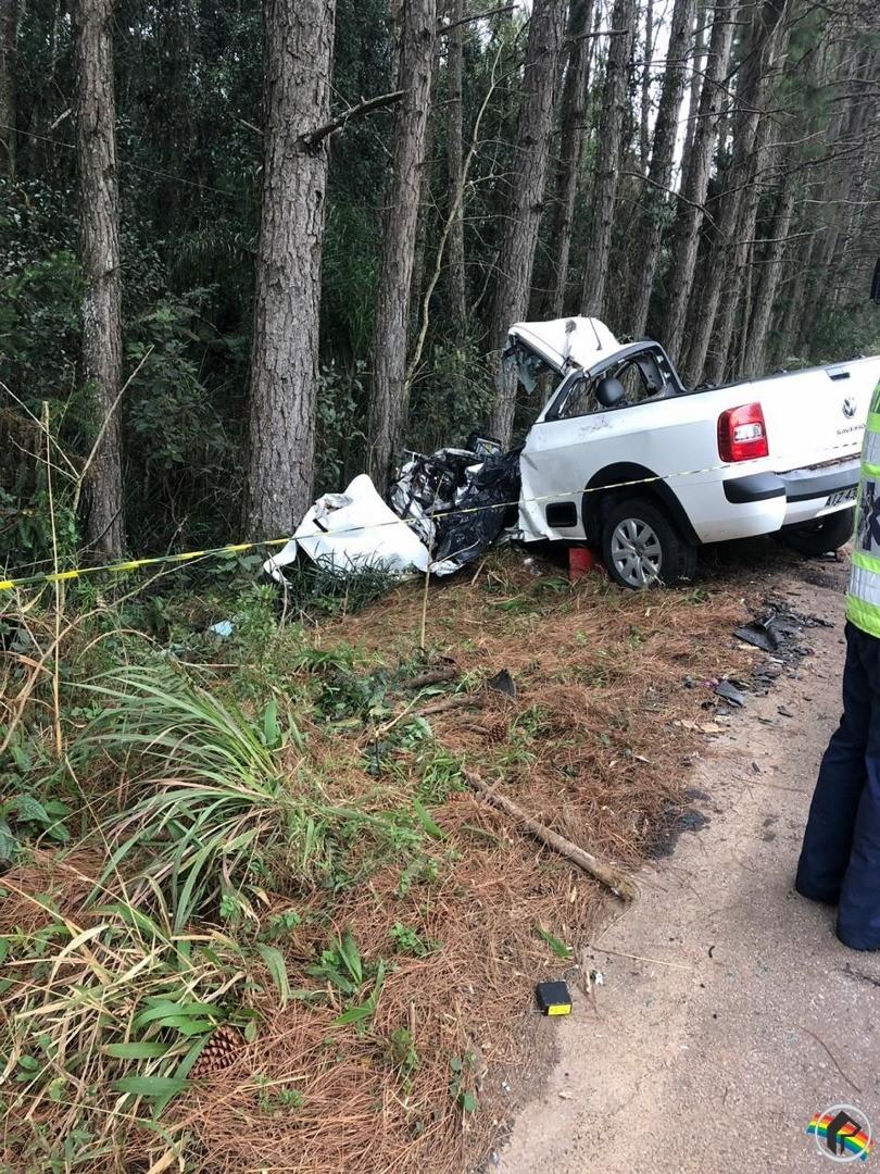 Empresário morre em acidente na SC-161 em Campo Erê