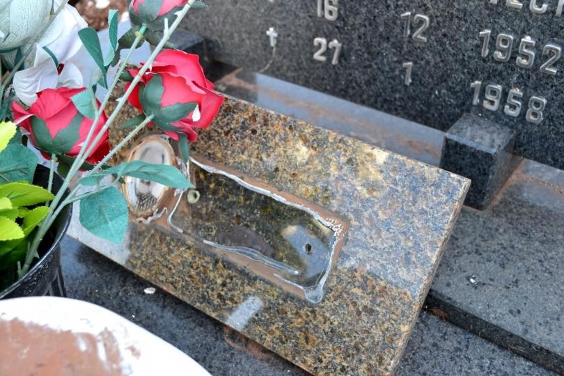 Moradores denunciam furto no Cemitério de Descanso