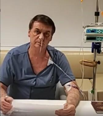 Bolsonaro presta solidariedade a vítimas de incêndio em hospital no RJ