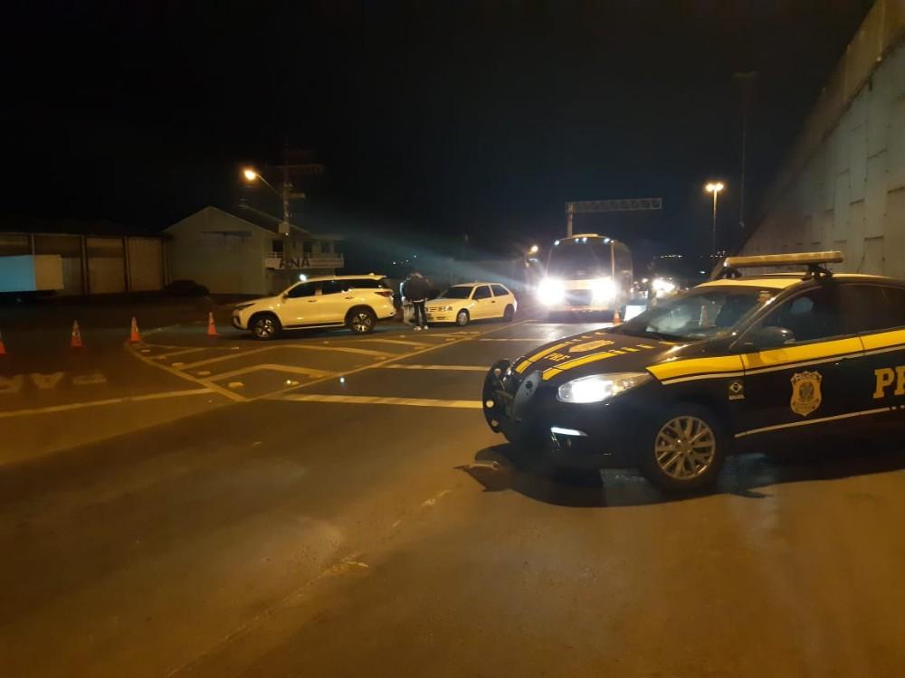 Sete são presos em operação da PRF no Extremo-Oeste