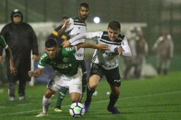 Chapecoense perde para o Palmeiras por 2 a 1 e cai mais uma posição na Série A