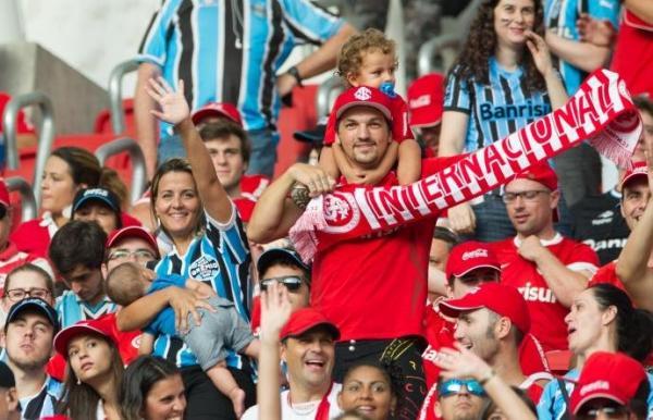 Torcidas esgotam ingressos e Gre-Nal deve ter 45 mil no Beira-Rio