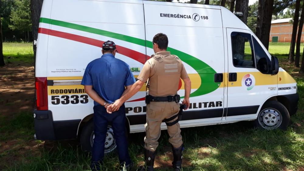 Homem é preso com CNH falsificada na SC-161 em Palma Sola
