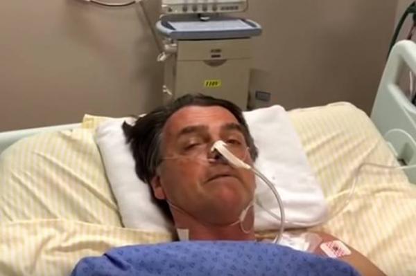 VÍDEO: Morte passou a dois milímetros de mim, diz Jair Bolsonaro