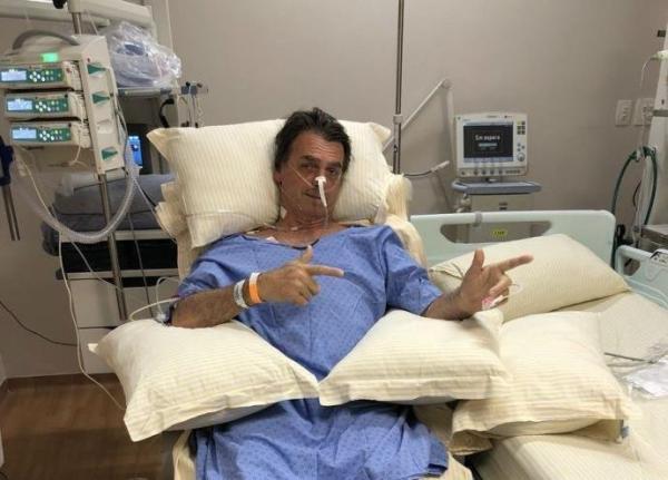 Bolsonaro apresenta melhora clínica e não tem sinal de infecção