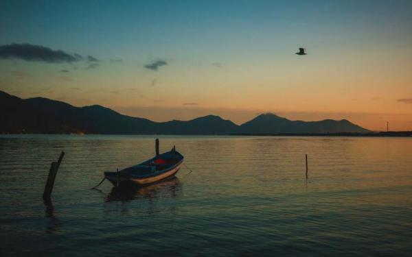 Massa de ar frio no oceano vai mudar o tempo em Santa Catarina