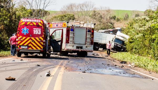 Motorista morre em colisão frontal na BR-163 em Dionísio Cerqueira